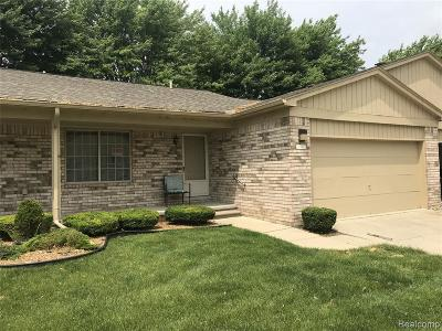 Macomb Condo/Townhouse For Sale: 41545 Janet Cir