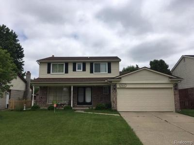 Sterling Heights Single Family Home For Sale: 37632 Tericrest Dr