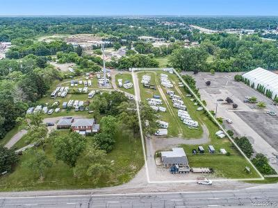 Shelby Twp Residential Lots & Land For Sale: 45440 Mound Rd