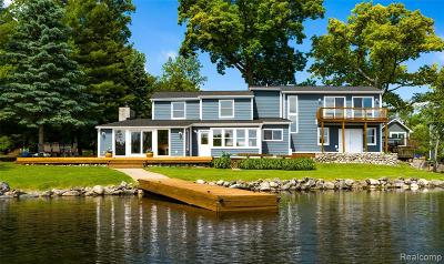Lake Orion Single Family Home For Sale: 350 Shorewood Crt