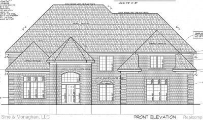 Detroit Single Family Home For Sale: 42 Sand Bar Ln