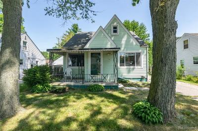 Saint Clair Shores Single Family Home For Sale: 21915 California St