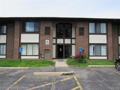 Warren Condo/Townhouse For Sale: 4925 E 10 Mile Rd