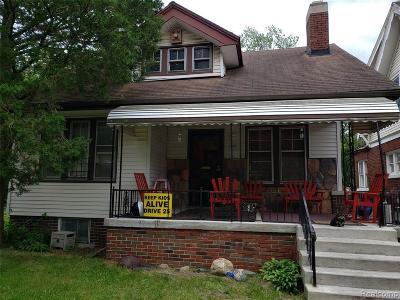 Detroit Single Family Home For Sale: 12126 Rosemary St