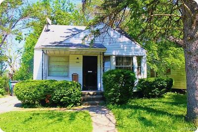 Detroit Single Family Home For Sale: 12240 Stout St