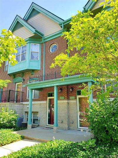 Detroit Condo/Townhouse For Sale: 2612 Woodward Ave