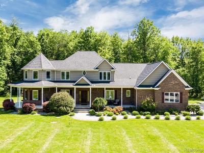 Armada Single Family Home For Sale: 17150 Bordman Rd