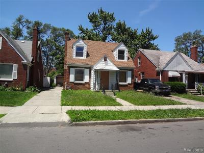 Detroit Single Family Home For Sale: 16551 Ardmore St