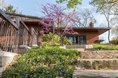Bloomfield Hills Single Family Home For Sale: 5010 Franklin Rd