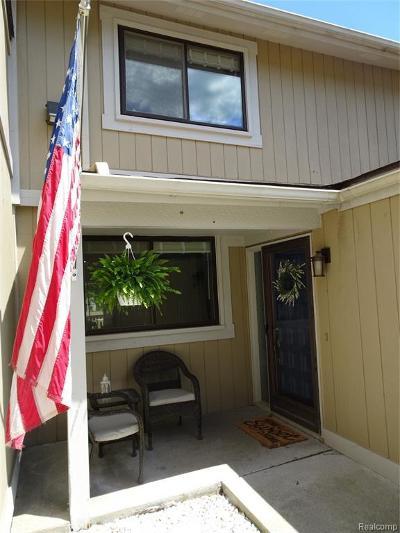 Northville Condo/Townhouse For Sale: 1114 Washington Cir