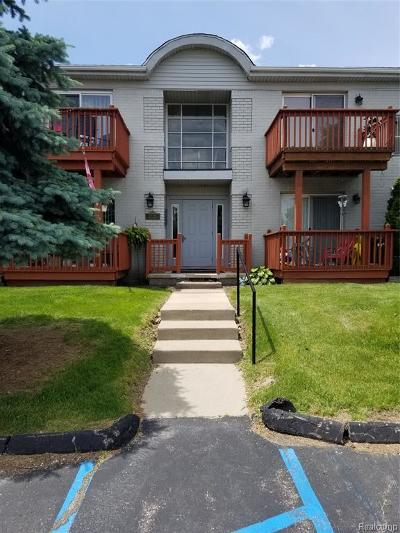 Trenton Condo/Townhouse For Sale: 1762 Fort St