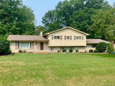 Clarkston Single Family Home For Sale: 5541 Warbler Dr