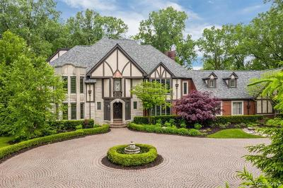 Bloomfield Hills Single Family Home For Sale: 1235 Westview Rd