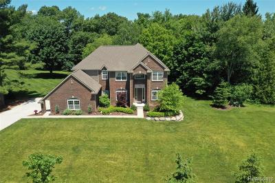Lake Orion Single Family Home For Sale: 1380 Wildflower Crt