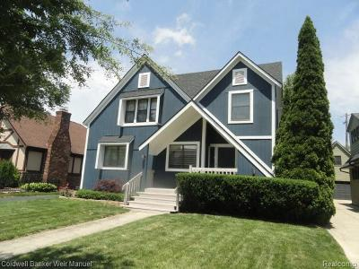 Birmingham Single Family Home For Sale: 967 Forest