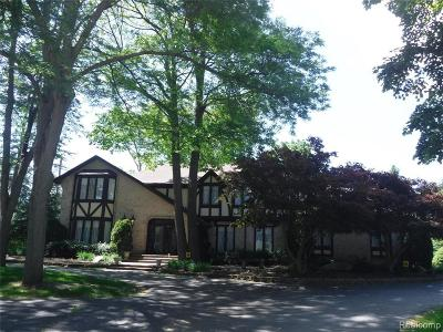 Bloomfield Hills Single Family Home For Sale: 4498 Duval Crt