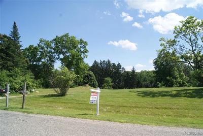 Bloomfield Hills Residential Lots & Land For Sale: 1615 Keller Ln