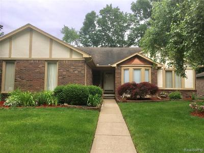 Shelby Twp Single Family Home For Sale: 4756 Beech Haven Dr