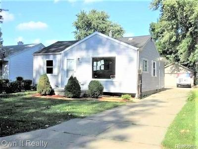Taylor Single Family Home For Sale: 14685 Harold St
