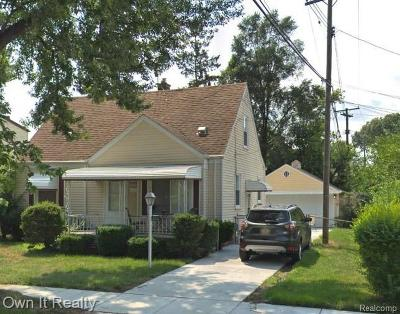 Taylor Single Family Home For Sale: 8232 Ziegler St