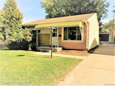 Taylor Single Family Home For Sale: 6147 Duncan St
