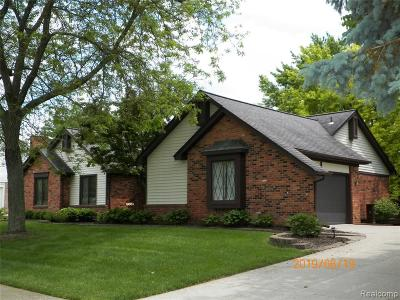 Plymouth Single Family Home For Sale: 9651 Red Pine Dr