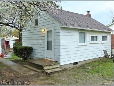 Taylor Single Family Home For Sale: 9120 Trafalgar St