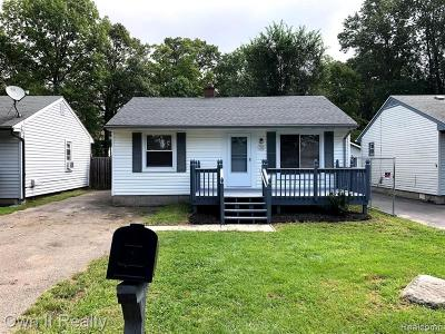 Taylor Single Family Home For Sale: 15665 McGuire St