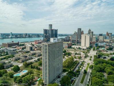 Detroit Condo/Townhouse For Sale: 1300 E Lafayette
