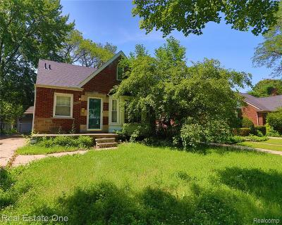 Harper Woods Single Family Home For Sale: 20466 Lochmoor
