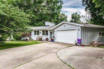 Fort Gratiot Single Family Home For Sale: 3909 N River Rd