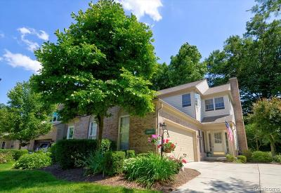 Northville Condo/Townhouse For Sale: 39683 Dun Rovin Dr