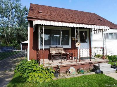Taylor Single Family Home For Sale: 6369 John Daly St