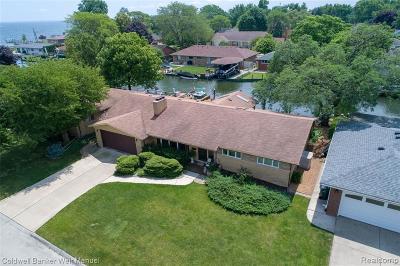 Saint Clair Shores Single Family Home For Sale: 22606 Lakecrest St