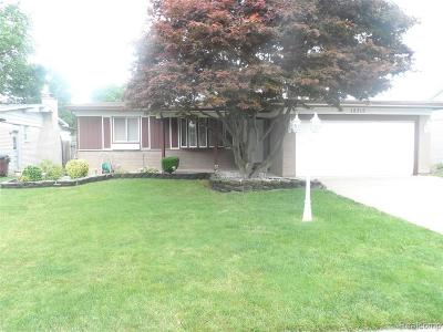 Southgate Single Family Home For Sale: 12315 Manor St