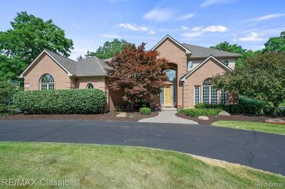 West Bloomfield Single Family Home For Sale: 3401 Green Hill Crt