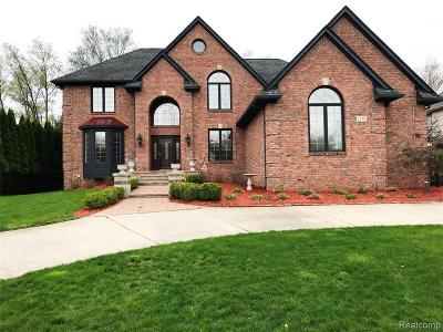 West Bloomfield Single Family Home For Sale: 5526 Hampshire Dr