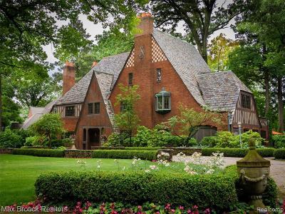 Royal Oak Single Family Home For Sale: 160 Hendrie Blvd