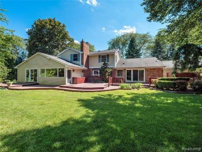 Bloomfield Hills Single Family Home For Sale: 3837 Top View Crt
