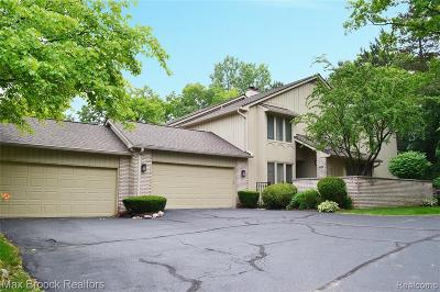 Bloomfield Hills Condo/Townhouse Pending: 1126 Timberview Trl