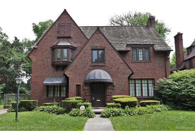 Detroit Single Family Home For Sale: 2224 Burns St