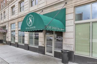 Detroit Condo/Townhouse For Sale: 525 W Lafayette Blvd