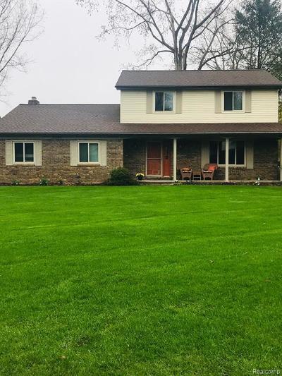 Clarkston Single Family Home For Sale: 9694 Klais Rd