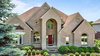 Rochester Hills Single Family Home For Sale: 3881 Cherrywood Ln