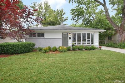Royal Oak Single Family Home For Sale: 703 Detroit Ave
