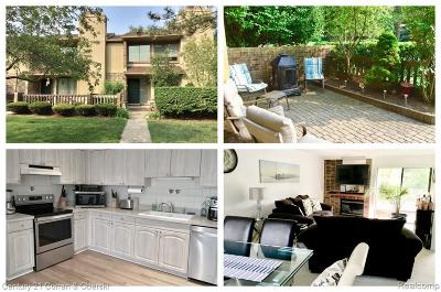 Bloomfield Hills Condo/Townhouse For Sale: 1709 S Hill Blvd