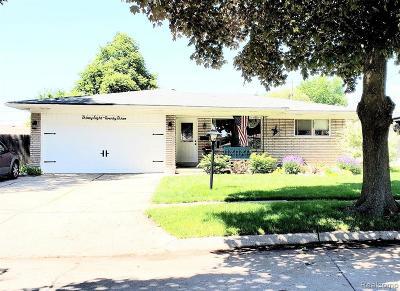 Warren Single Family Home For Sale: 3823 Shampo Dr