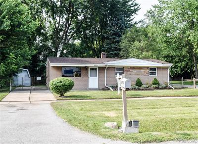 Taylor Single Family Home For Sale: 26933 Wick Rd