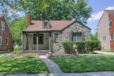 Huntington Woods Single Family Home For Sale: 10064 Talbot Ave