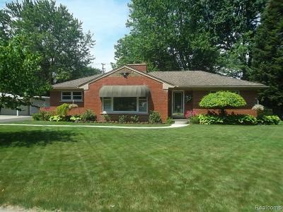 Dearborn Single Family Home For Sale: 5907 Rosetta St